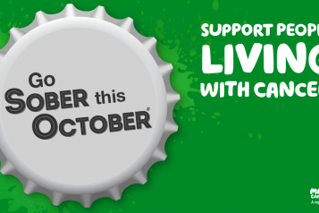 go sober for october graphic