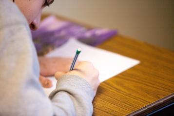 adult writing